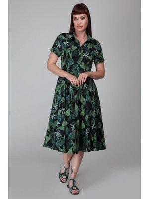 Collectif Mirtilla Black Forest Swing-jurk