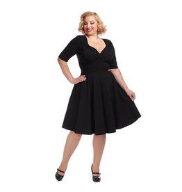 Collectif Trixie Doll Dress - black