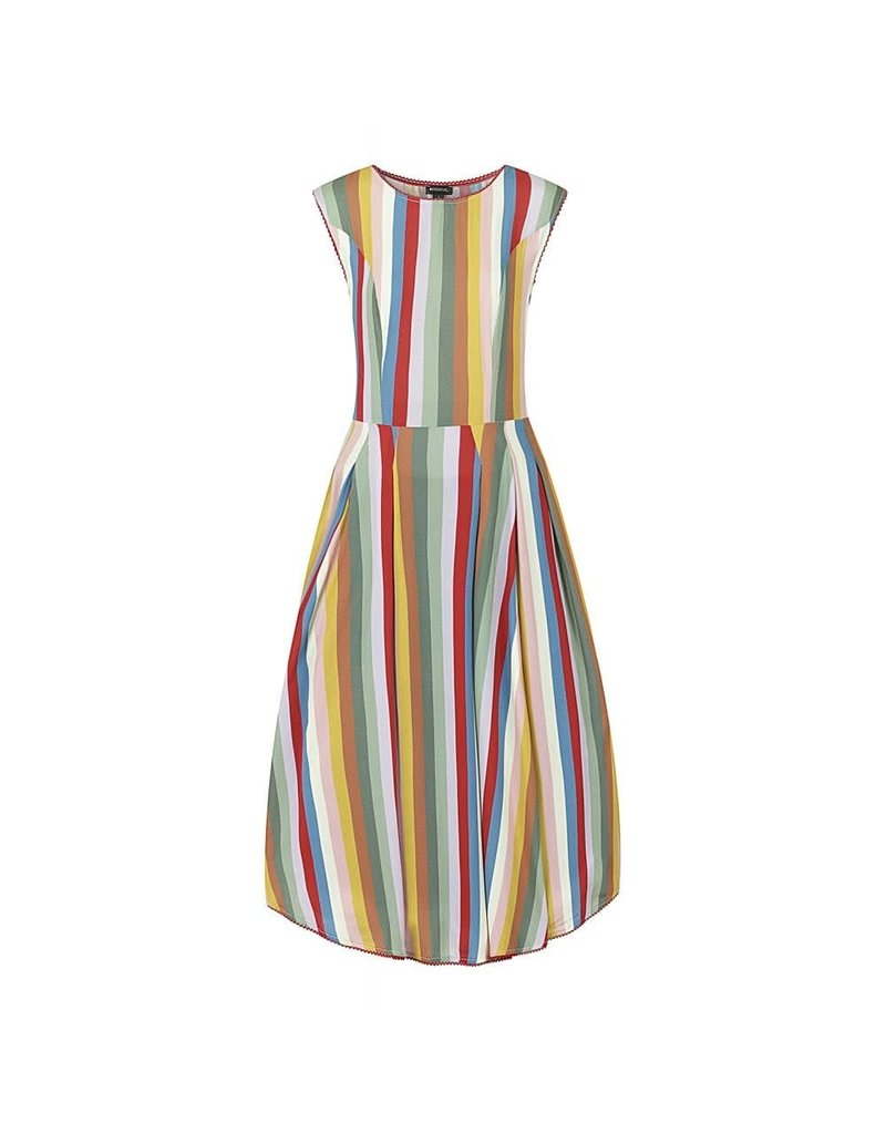 Bright & Beautiful Astrid Deckchair Stripe Dress