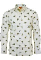 Run & Fly Bee shirt long sleeves