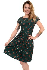 Run & Fly Fox tea dress