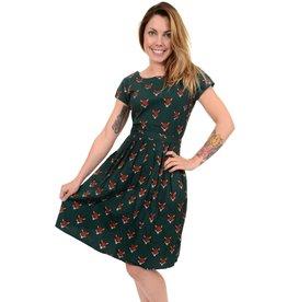 Run & Fly Fox tea dress