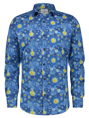 A Fish Named Fred Van Gogh Starry Night shirt