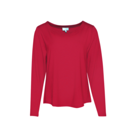 LaLaMour Loose shirt II - Red