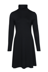LaLaMour Turtle neck dress black