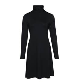 LaLaMour Turtle neck dress black