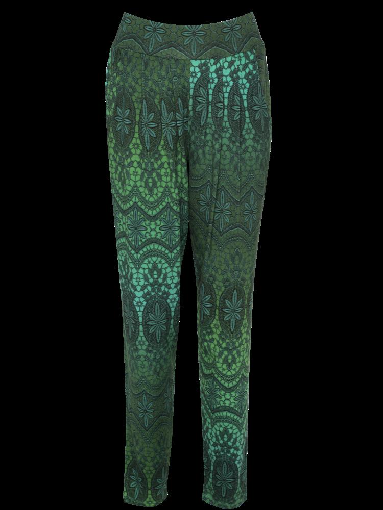 LaLaMour Lace pants - petrol