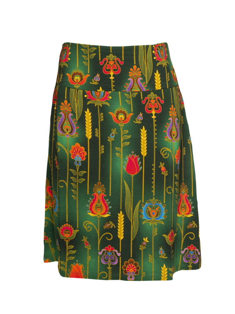 LaLaMour A-line Skirt folky