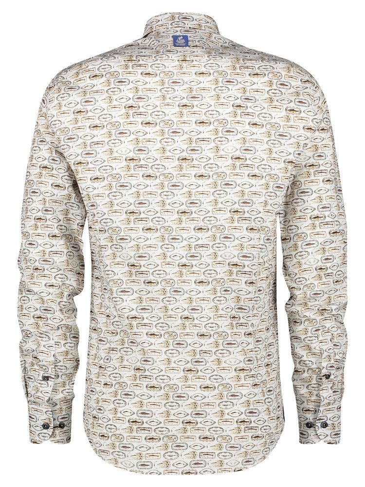A Fish Named Fred Fish Plates shirt