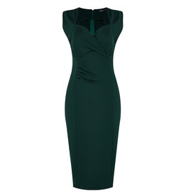 Dolly & Dotty Emma  Wiggle Dress In Green