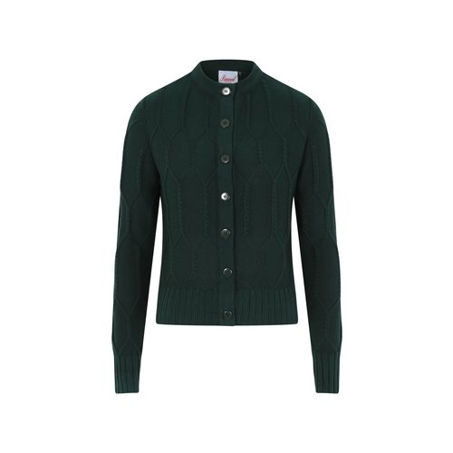 Banned Midnight Daze Cardigan - forest green