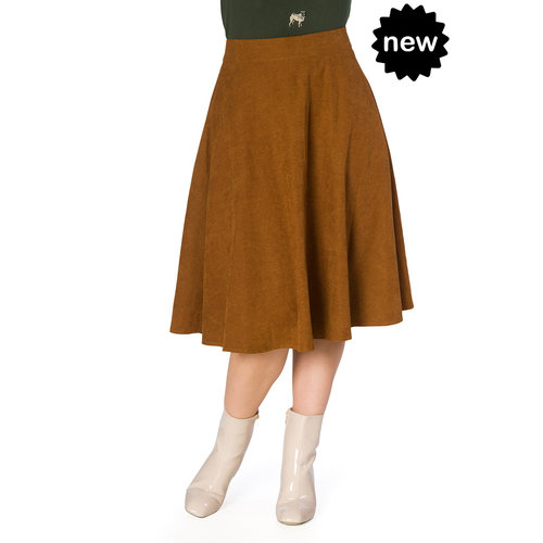 Banned Sophicated lady skirt - brown