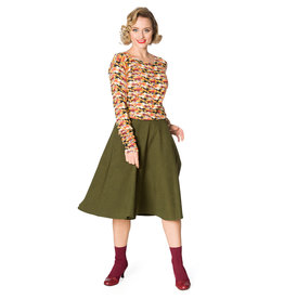 Banned Sophicated lady skirt - Green