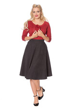 Banned Sophicated lady skirt - Grey