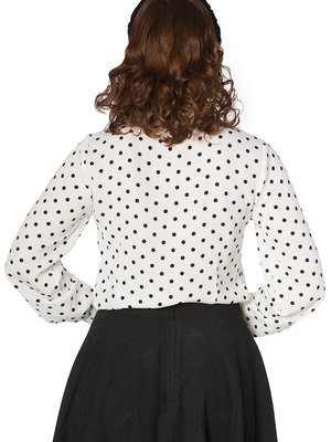 Banned Cat Collar Blouse