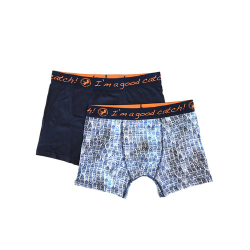 A Fish Named Fred 2pack boxers - canal houses