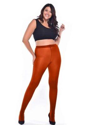 Pamela Mann 50 Denier Curvy Super Stretch Tights - Rust L-XXL