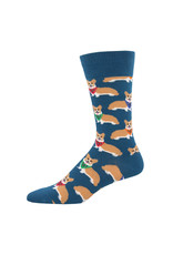 SockSmith Corgi mens socks