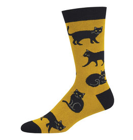 SockSmith Black Cat mens socks