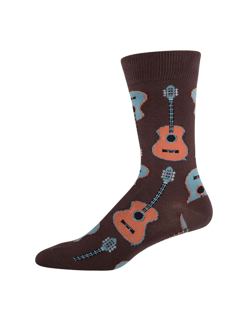 SockSmith Guitar mens socks