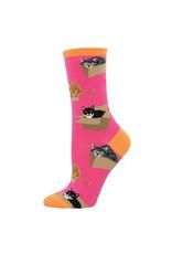 SockSmith Cat in a Box sokken