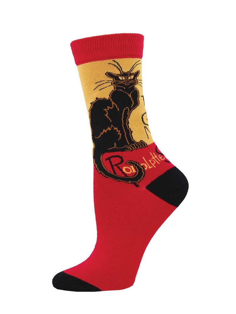 SockSmith Chat Noir socks