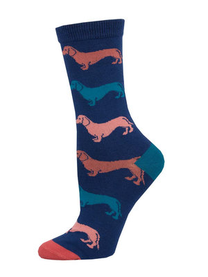 SockSmith Dachshund womens socks