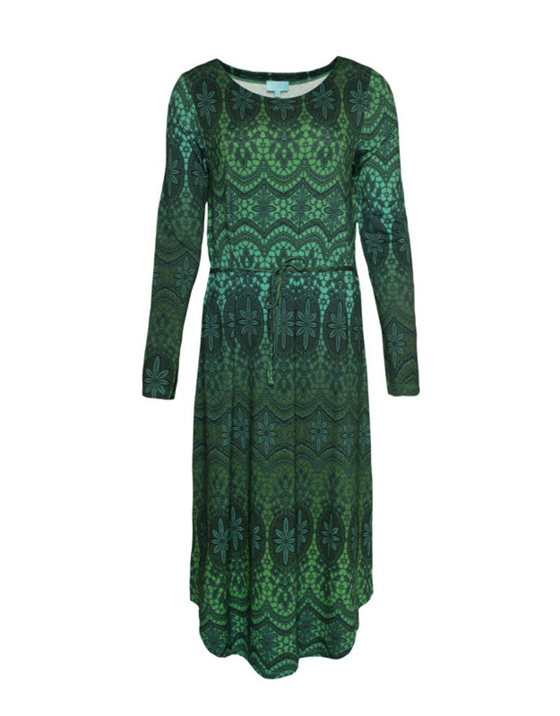 LaLaMour Long Tunic Dress Lace