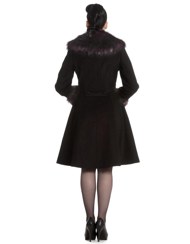 Hell Bunny Rock Noir Coat maat XXL