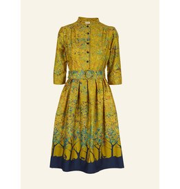 Palava Cynthia - Mustard Forest Dress