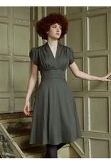 Palava Rita - Navy Marbled Feather Dress