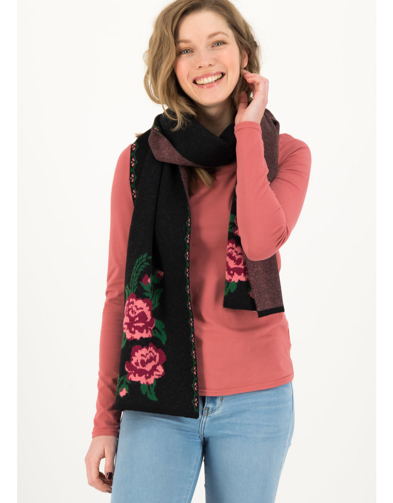 Blutsgeschwister rosewood tales scarf - Midnight Roses