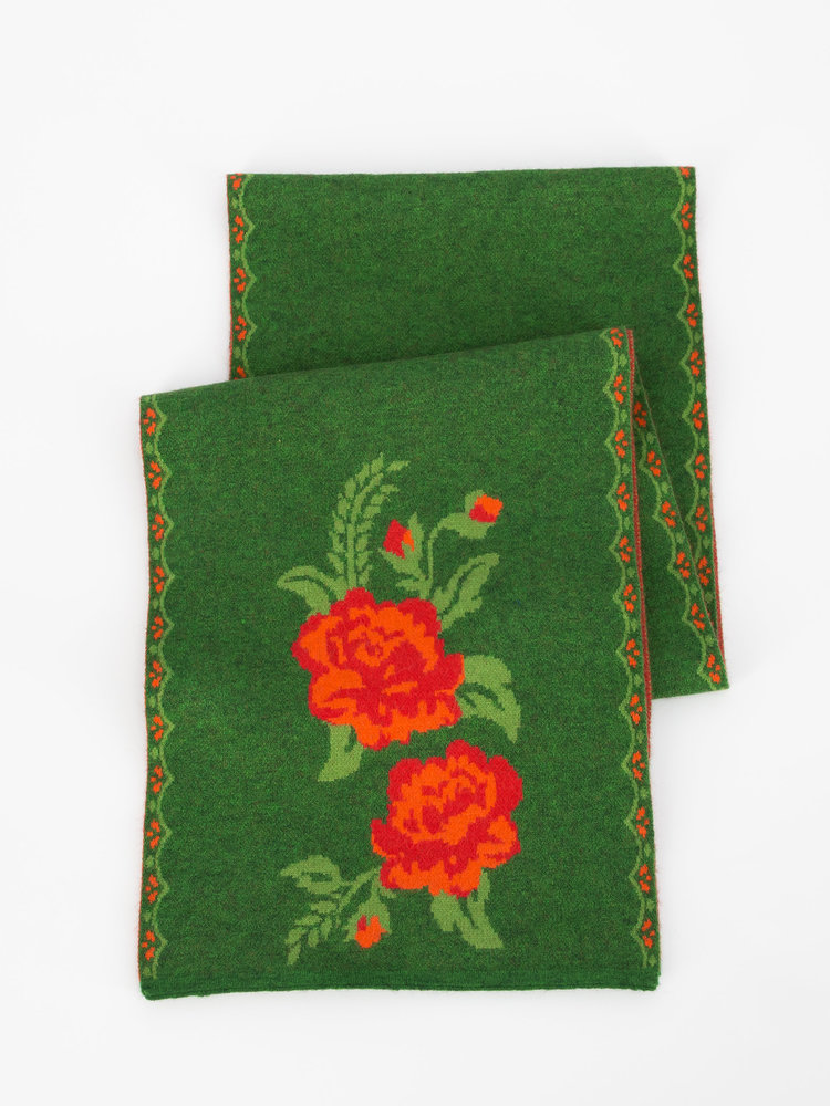 Blutsgeschwister rosewood tales scarf - tempting roses