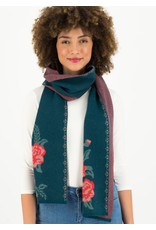 Blutsgeschwister rosewood tales scarf - frozen roses