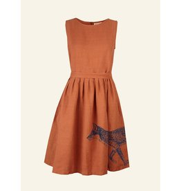 Palava Mabel - Rust Fox dress