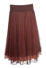 LaLaMour Mesh skirt / Petticoat - Brown