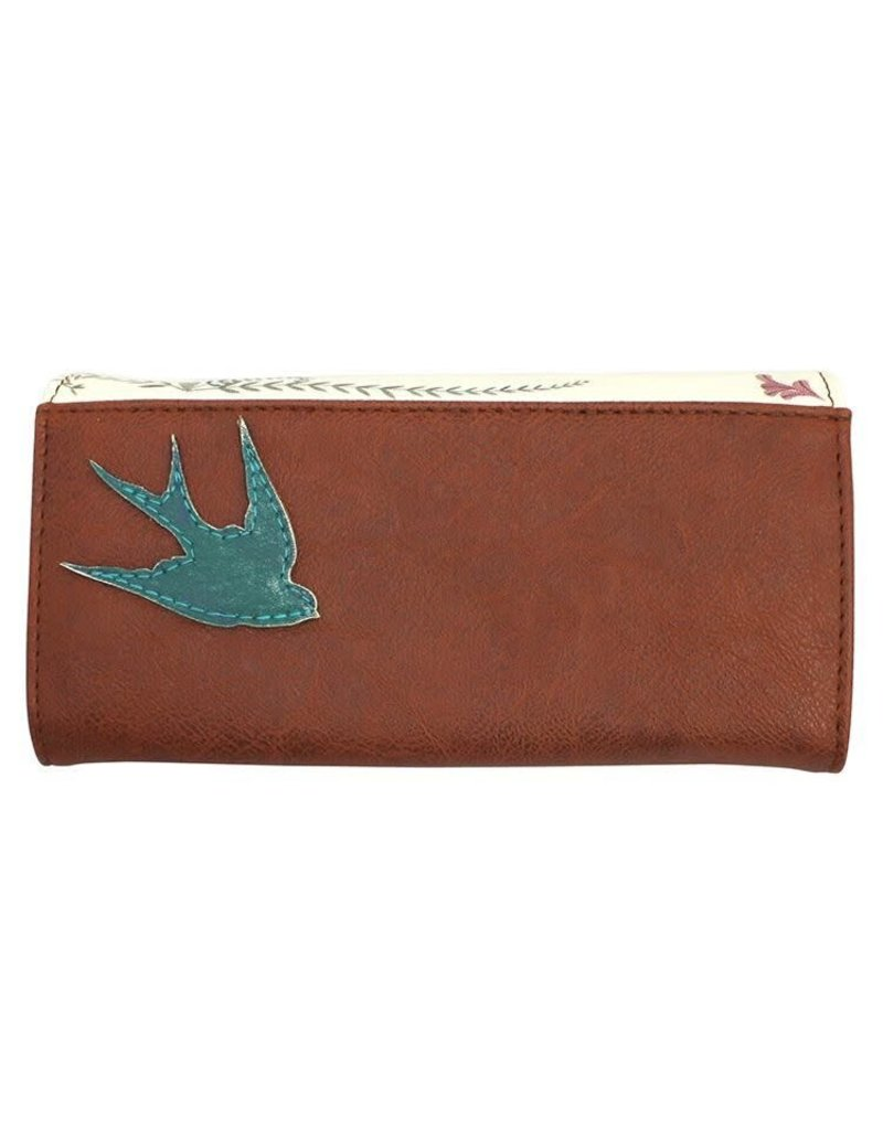 Disaster In a Nutshell Bird Wallet