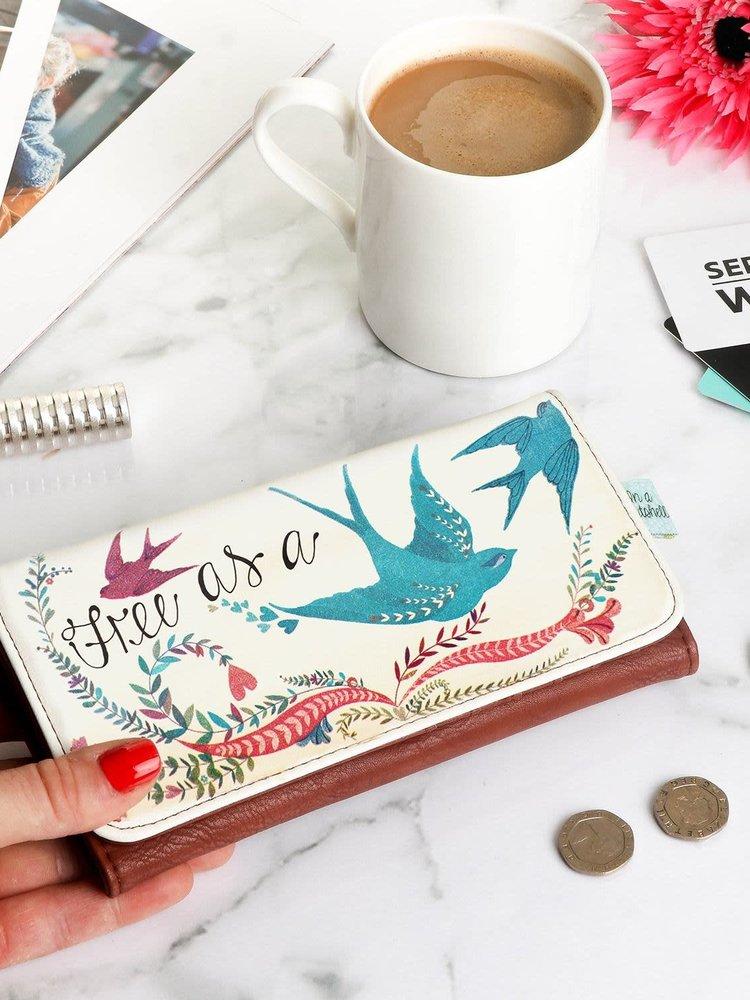 Disaster In a Nutshell Bird Wallet