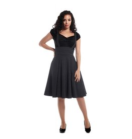 Collectif Alexa Polka Dot Swing Skirt