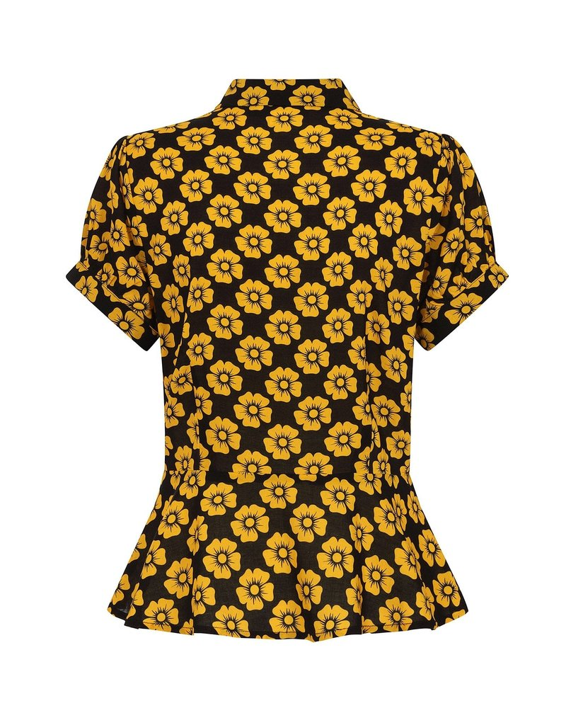 Collectif Mary Grace Vintage Fleur Blouse