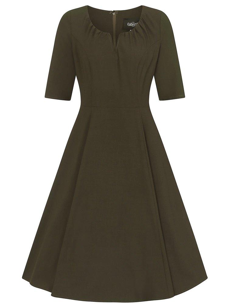 Collectif Barker Flared Dress