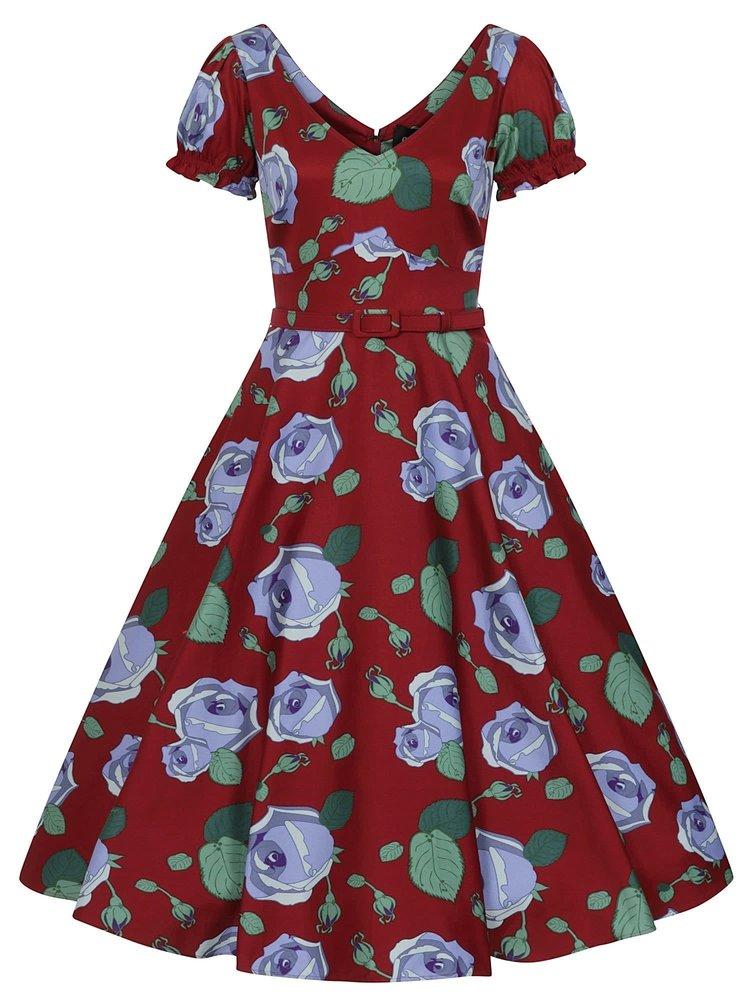 Collectif Leilani Large Bloom Swing-jurk