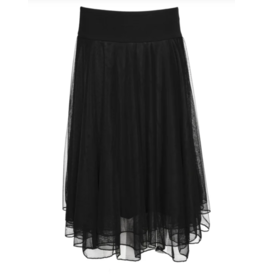LaLaMour Mesh skirt / Petticoat - Black
