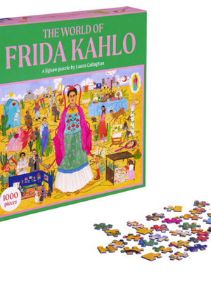 Wereld van Frida Kahlo Puzzel