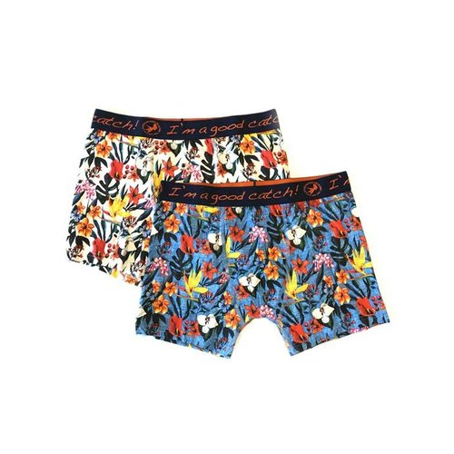 A Fish Named Fred 2pack Boxers - floral