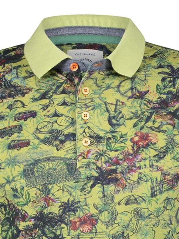 A Fish Named Fred Polo Festival Map green