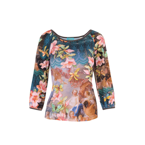 LaLaMour T-shirt Puffed Sleeves Venus