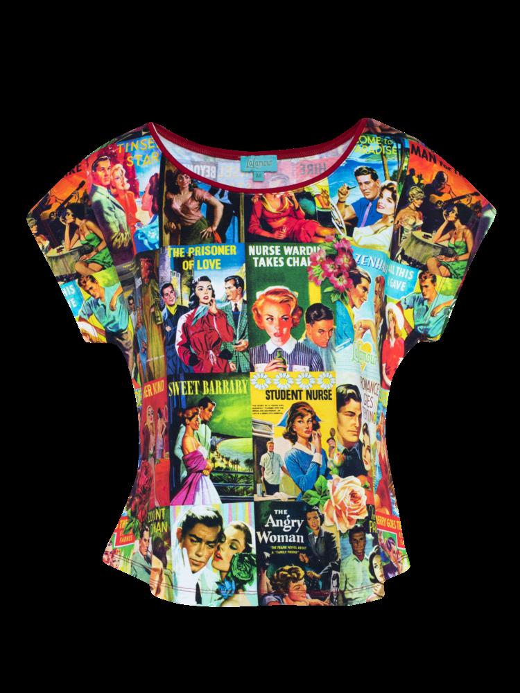 LaLaMour Loose Shirt Love Story