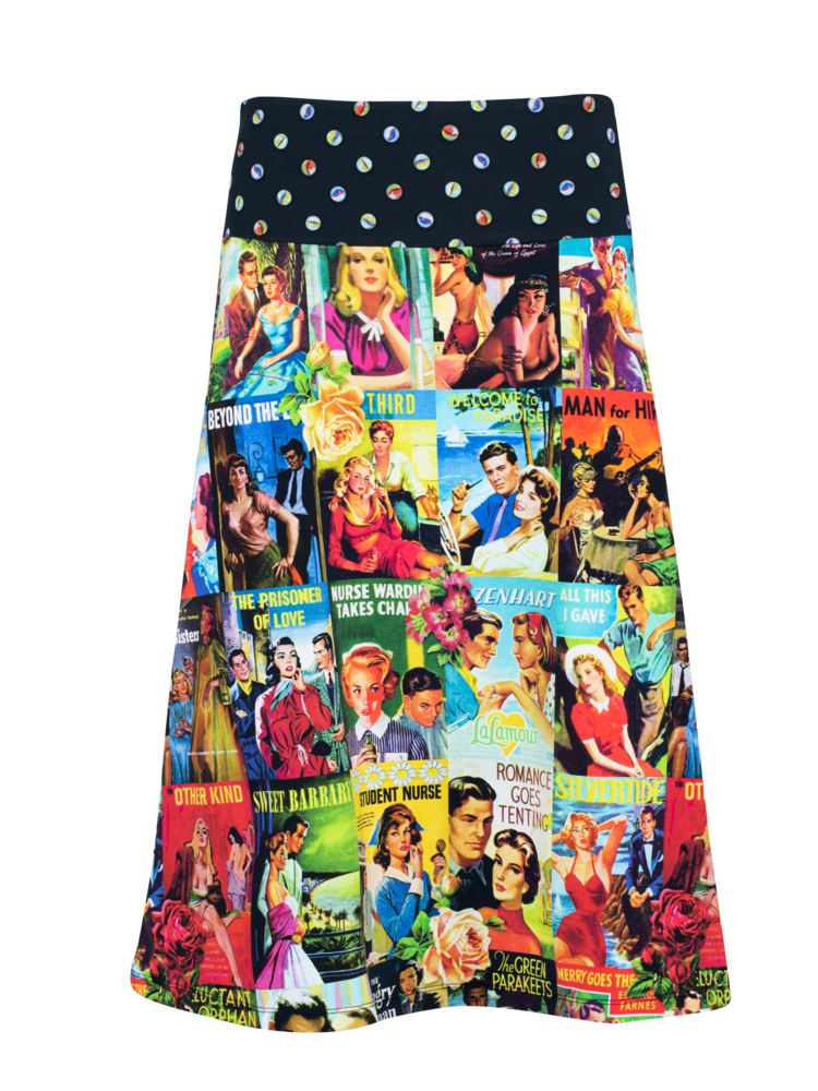 LaLaMour A-Line Skirt Love Story