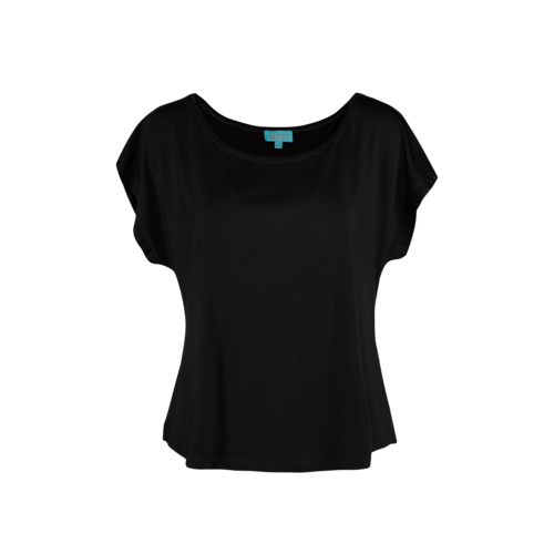 LaLaMour Loose Shirt black